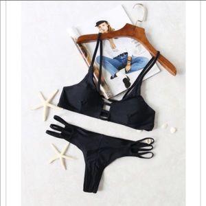 Other - Incredible Skimpy Brazilian Bikini set in Black